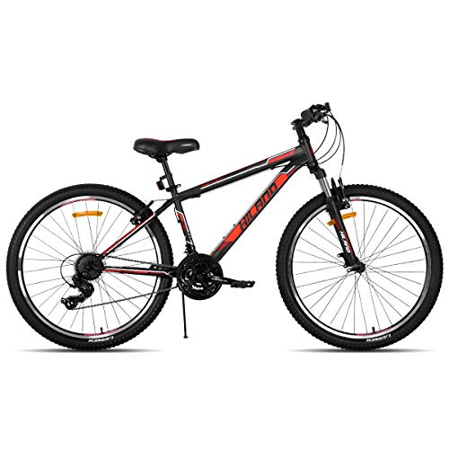 Hiland 26 Inch Mountain Bike with 21 Speed Suspension Fork