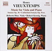 Vieuxtemps: Music for Viola and Piano - Sonata Op.36 / Unfinished Sonata Op. Post by Roberto Diaz (2002-07-16)