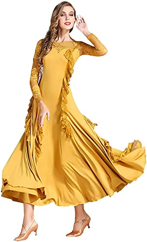YTS Jupe de Bal pour Adulte, Robe de Danse Ginger Four Seasons