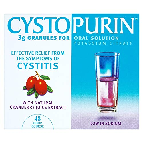Cystopurin 3g Granules for Oral Solution with Natural Cranberry Juice Extract 6 Sachets by Cystopurin