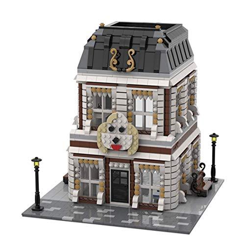 CYGG Pet Hospital Townhuose Modular House Set, Edificio Modular Compatible con Lego - 2530 PCS