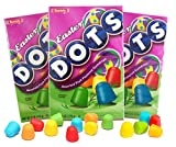 Dots Assorted Fruit Flavored Gumdrops Theater Box, 6 oz (Pack of 3)