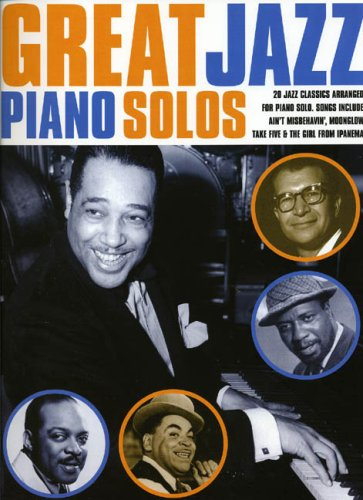 Great Jazz Piano Solos (Great Piano Solos)