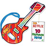 Motown Magic Toy Guitar with 10 Famous Songs - Musical Instrument Gift for Toddlers, Boys, & Girls Ages 2 3 4 5
