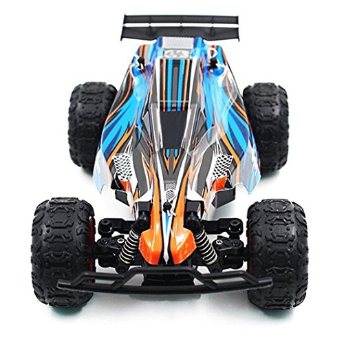 Dreamyth Excellent Gift 9600 2.4G RC Car Vehicle Drive High-speed Climbing Racing Car Remote Control (Blue)