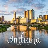 Indiana Calendar 2022: Calendar 2022 with 6 Months of 2021 Bonus