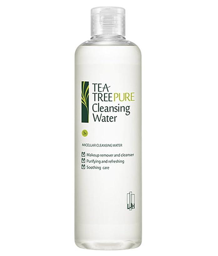 ジャンル同等の練習(イジハム) LeeGeeHaam Tea tree Pure Cleansing Water 300ml (海外直送品)