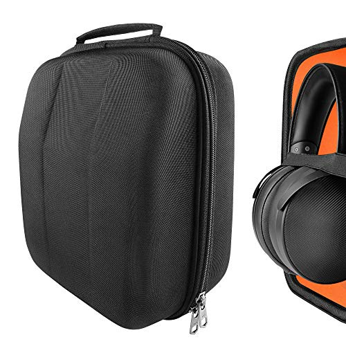 Geekria UltraShell Headphone Case for Sony MDR-Z1R, MDR-Z7M2, DEN0N AH-D9200, AH-D5200, Fostex TH-500RP, TH900, TH909, Pioneer SE-DIR800C, A1000 Headphones, Large Hard Shell Travel Carrying Bag