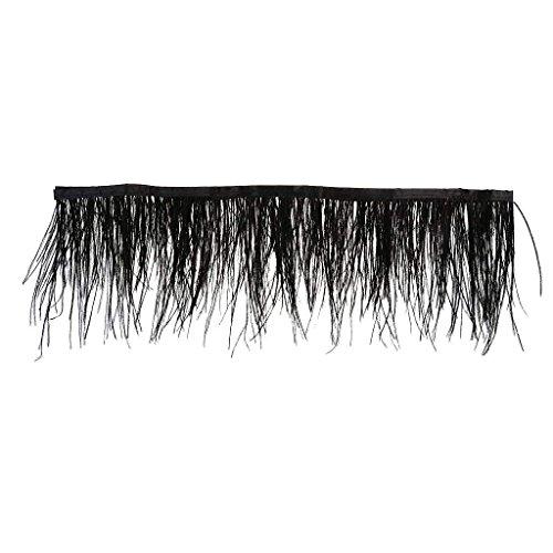 Ndier - Flecos teñidos de plumas de avestruz