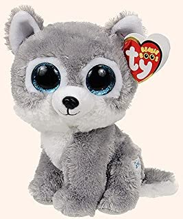 Warrior the Wolf Beanie Boo by Ty - 6