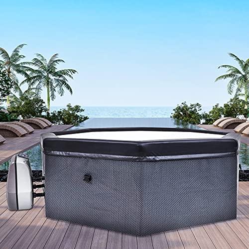 CosySpa Deluxe Rigid Foam Hot Tub Spa [4-6 People] | Quick Heating...