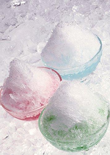 パール金属かき氷器ブルーハワイ製氷カップ1個付日本製おウチで簡単D-1341