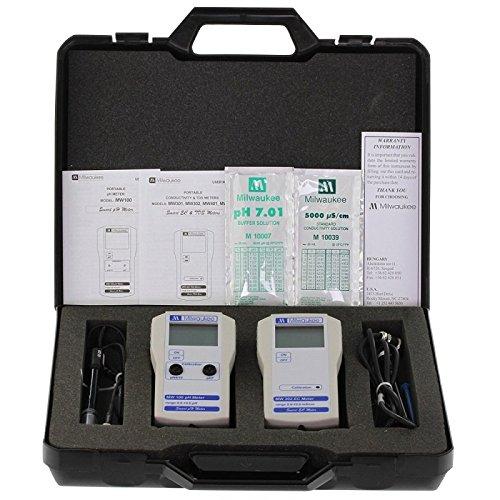 pH und EC-Messer-Kit Milwaukee Koffer