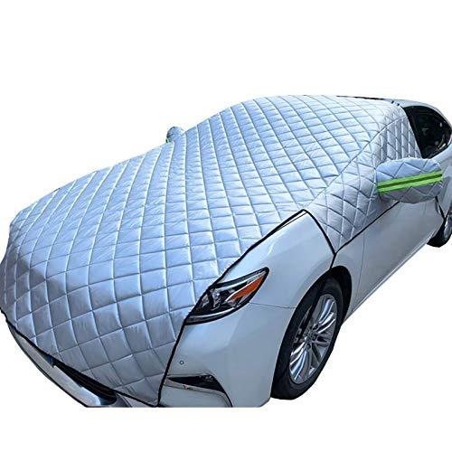 CARCOVERCJH Fundas para Coche Compatible con Las Cubiertas de automóviles Suzuki Ignis, Cubiertas Exteriores Completas espesas, adecuadas para automóviles/SUV/Coches Deportivos