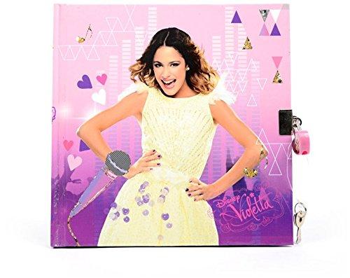 Disney Violetta Tagebuch mit Schloß