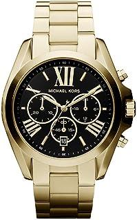 Michael Kors Women's Bradshaw Stainless Steel 43MM Chronograph Watch