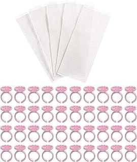 Minkissy Plastic Bloem Manicure Paletten Ring Nail Display Platen Manicure Nail Kleur Card Plastic Nail Card Manicure Appa...