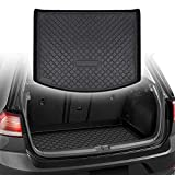 CUMART Rear Trunk Cargo Mat Liner Waterproof Compatible with Ford Escape 2013 2014 2015 2016 2017 2018 2019 2020 Custom Fit Black