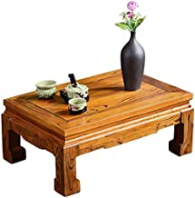 Selected Furniture/Living Room Brown Balcony Bay Window Table Home Solid Wood Simple Study Low Table Tatami Coffee Table A...