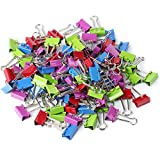 color binder clips - Mr. Pen Colored Binder Clips, Small, Pack of 100