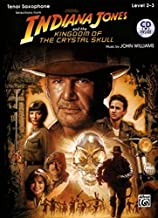 Indiana Jones and the Kingdom of the Crystal Skull Instrumental Solos: Tenor Sax, Book & CD (Pop Instrumental Solos Series)