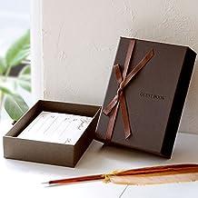 ボックス型カード式芳名帳 ベルテ(スタンダードカード80枚付) /結婚式/ゲストブック