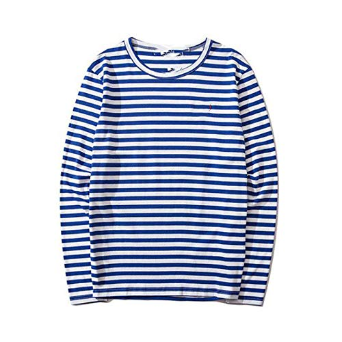 N\P Camisetas de manga larga de algodón para hombre y mujer