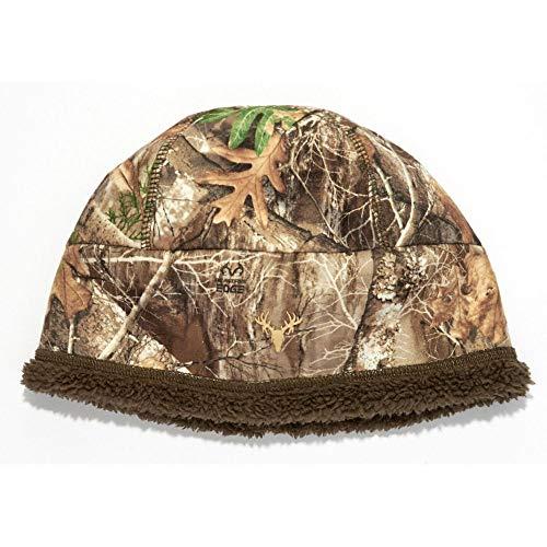 HOT SHOT Herren Camo Twister Stormproof Beanie - Realtree Edge Outdoor Jagd Camouflage, Herren, Realtree Edge, Einheitsgröße