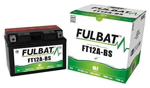 FT12A-BS , DIN51013 YT12A-BS wartungsfreie AGM, MF Fulbat Batterie