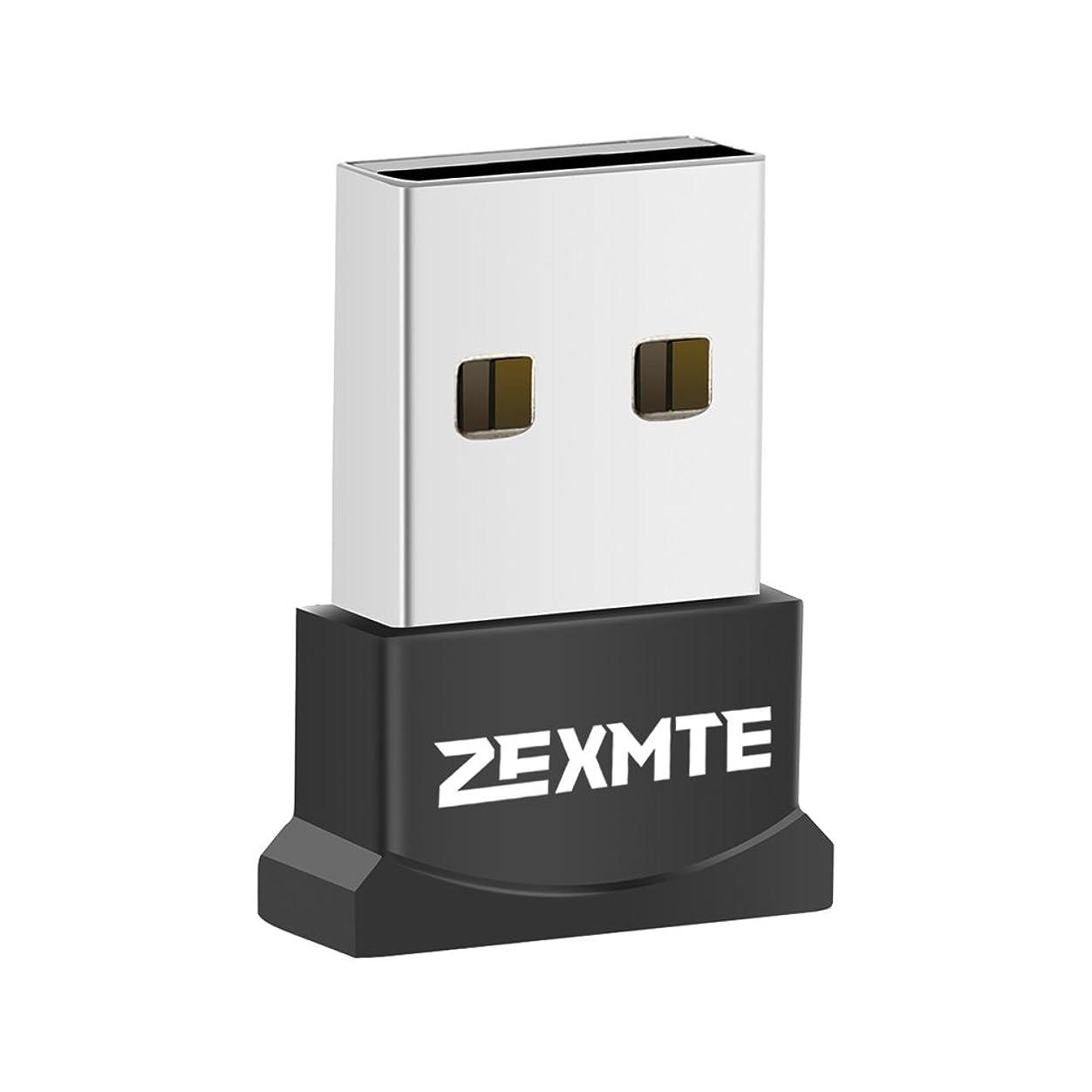 回想ウィスキー特徴づけるzexmte Bluetooth 4.0?+ EDR USBドングル低エネルギーアダプタサポートWindows 10?8?7?XP Vista