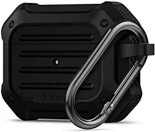 SPIGEN [Tough Armor] Airpods Pro Case Cover with Shock Resistance Designed for Apple Airpods Pro (2019) [FRONT LED VISIBLE...