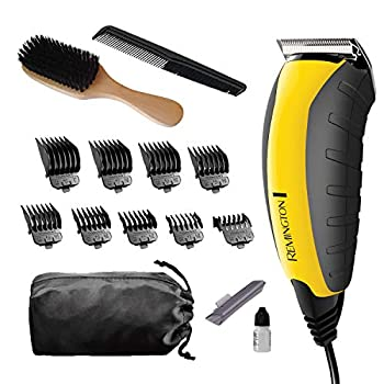 Remington HC5855 Virtually Indestructible Haircut Kit & Beard Trimmer Hair Clippers for Men  15 pieces