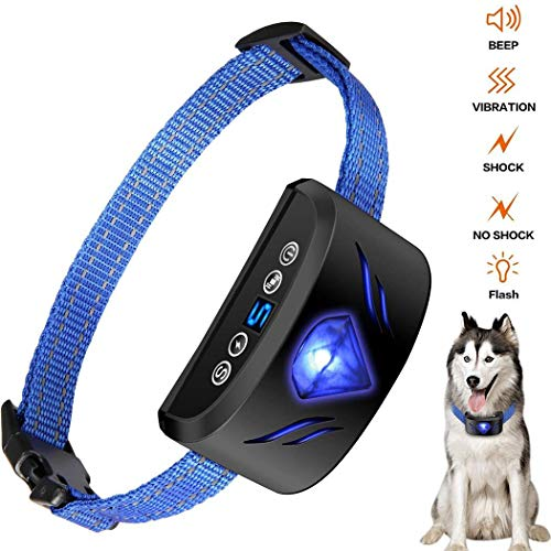 Buy Cheap Justew Dog Training Electronic Collar Dog Trainer Anti-bark Device Charging Waterproof Bed...