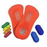 Barefoot Science Foot Strengthening System - 6-Step Active 3/4 Length - X-Large - Mens 12-13.5