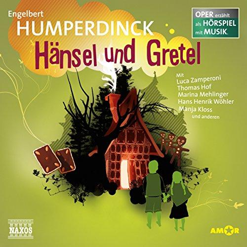 Hänsel und Gretel audiobook cover art