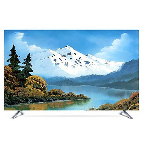 "KOIOK Protector TV Interior Universal Funda para Televisor de 20"" - 80"" LCD, LED, ó Plasma, A Prueba de Polvo,Decoraciones de Pantalla - 40 Pulgadas Hailar"