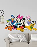 Disney Cartoon Group Mickey Mouse,Minnie Mouse, Donald Duck