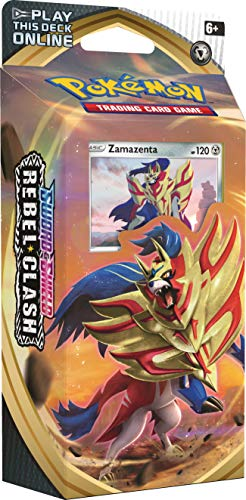 Pokemon TCG: Sword & Shield Rebel Clash Theme Deck Featuring Zamazenta