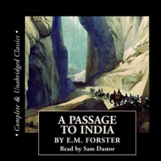A Passage to India audiobook cover art
