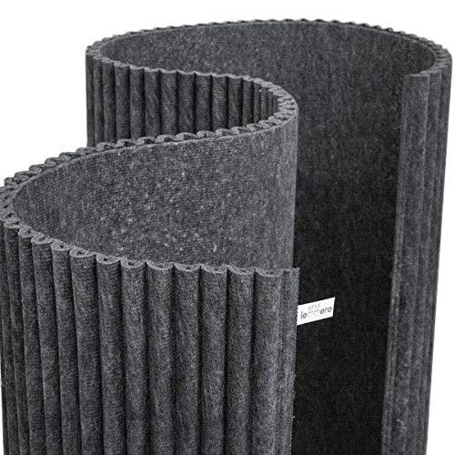 leggero design Pet Ondulado: | Rollo de Material fonoabsorbente en Fibra de poliéster para Estudios de grabación e instalaciones | 3 Metros de Largo, 1,18 Metros de Alto y 3 cm de Grosor