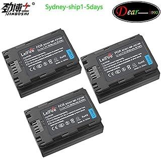 KEENKI 3 x NP-FZ100 Z Series Rechargeable Battery Pack for Sony NPFZ100 BC-QZ1 A7RM3 A7R III ILCE-A9 ILCE-9 ILCE9 Alpha A9 Digital Camera