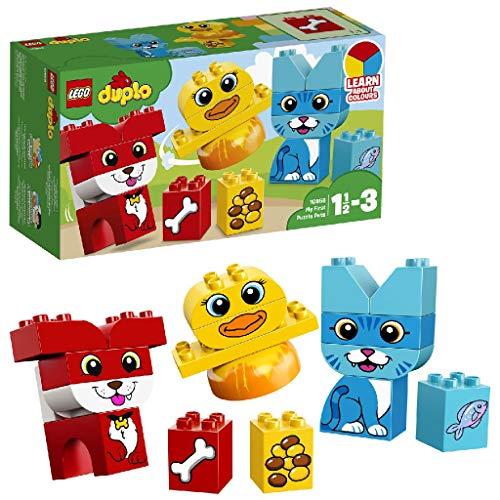 LEGO Duplo 10858 - Meine ersten Tiere, Farben lernen, Steine für Kleinkinder