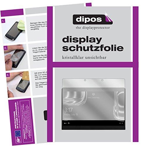 dipos I 2X Schutzfolie klar kompatibel mit Porsche Design Book One 13,3 Zoll Folie Bildschirmschutzfolie
