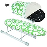 dgyl88 Tabletop Ironing Board with Retractable Iron Rest,Tabletop Ironing Board fits into Small Places, Amazing Space-Tabletop Ironing Board with Retractable Iron Rest