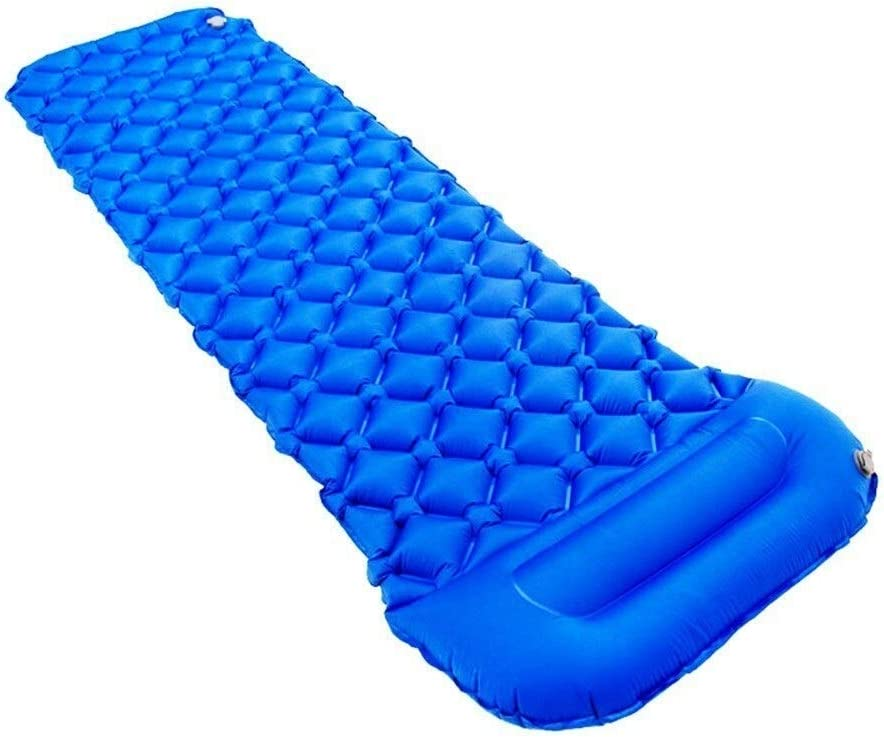 Inflatable Blue Outdoor,... Ideal for Camping Intex Pillow