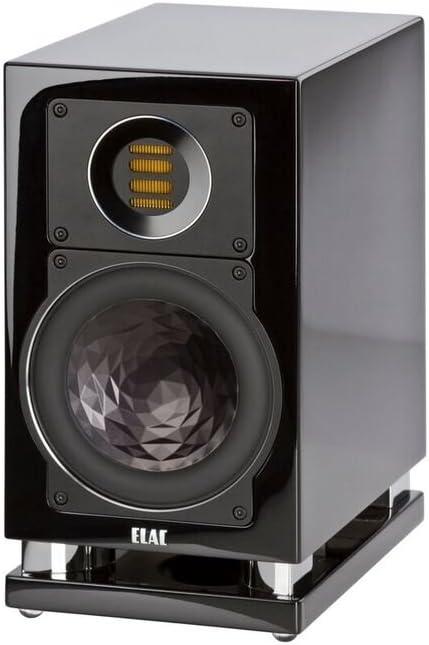 ELAC BS403 Bookshelf overseas Chicago Mall Home Speaker Pair Black