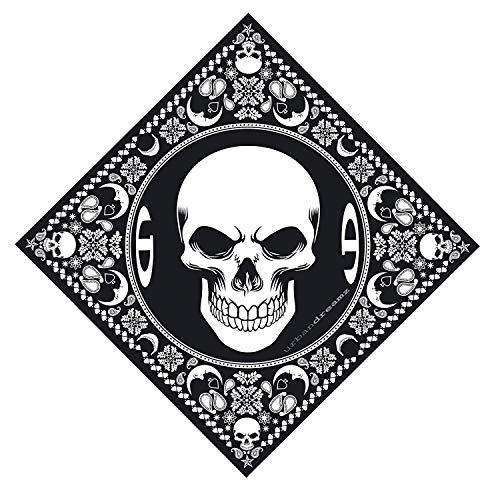 Urbandreamz Skull Bandana Halstuch Totenkopf Tuch