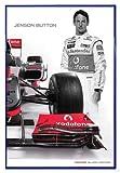 Close Up Mclaren Mercedes Poster Jenson Button (94x63,5 cm)