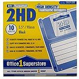 Floppy Disk 3.5 1,44MB 2HD Formattato DOS, Neri (conf.10)