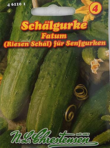 Schälgurke Fatum Gurke Senfgurke